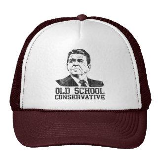 Reagan Bush Old School Conservative vintage tshirt Mesh Hat