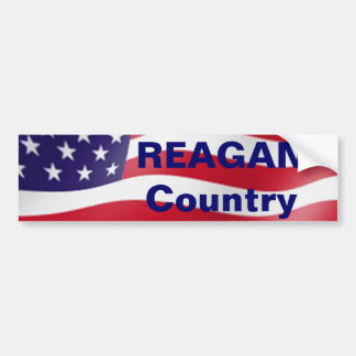Reagan Country Bumper Sticker