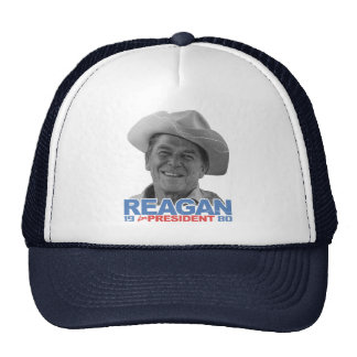 Reagan Cowboy 1980 Mesh Hats