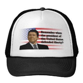 Reagan Liberty caps Trucker Hat