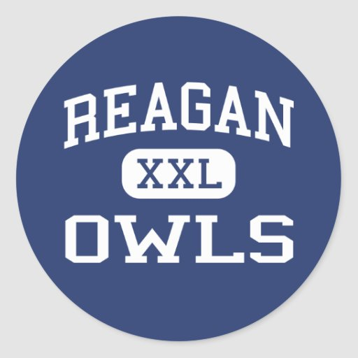 Reagan - Owls - High School - Big Lake Texas Stickers