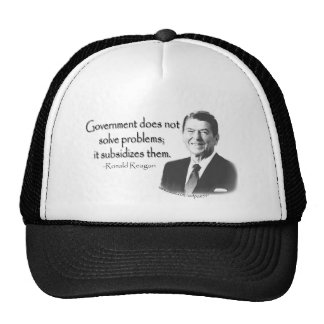 Reagan Quote 1 Mesh Hat