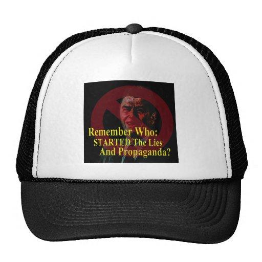 Reaganomics Sold Out America Mesh Hat