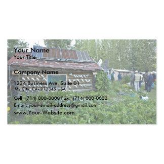 Reakoff cabin, Wiseman, Alaska Business Card Templates