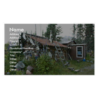 Reakoff cabin Wiseman, On the Koyukuk River Business Cards
