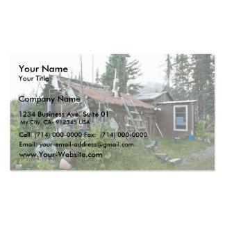 Reakoff cabin Wiseman, On the Koyukuk River Business Card