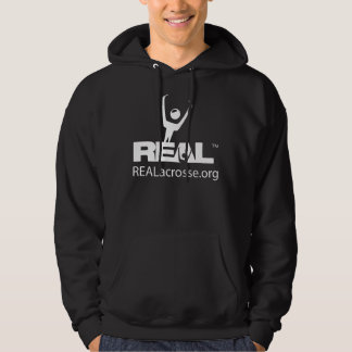 REAL Action on black Hoodie