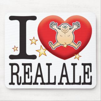 Real Ale Love Man Mouse Pad