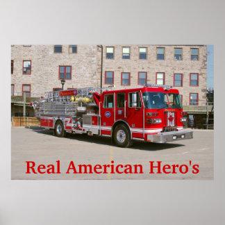 Real American Hero's Print