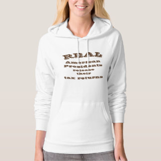 Real American Presidents Release Their Tax Returns Hoodie