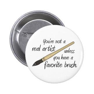 Real Artist Pin