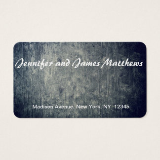 real background business card