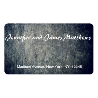real background pack of standard business cards