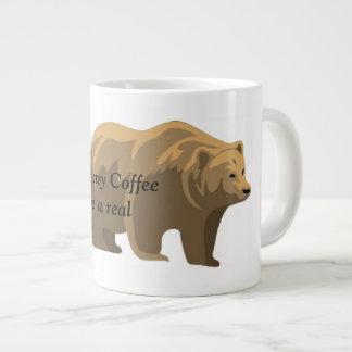 Real Bear Large Coffee Mug