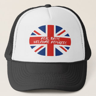 Real Brits Welcome Refugees Trucker Hat