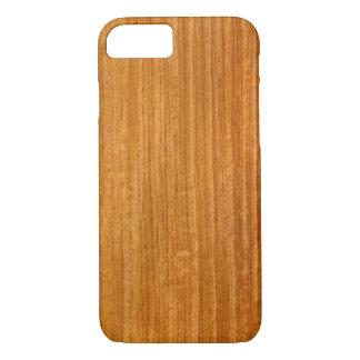 Real Burmese Padauk Veneer Woodgrain iPhone 7 Case