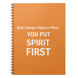 Real Change Happens Notebook
