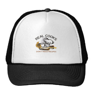 REAL COOKS TRUCKER HAT