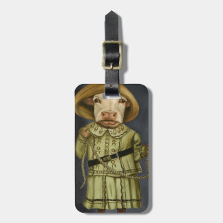 Real Cowgirl 2 Luggage Tag