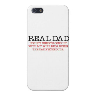 Real Dad (red diaper) iPhone 5 Covers