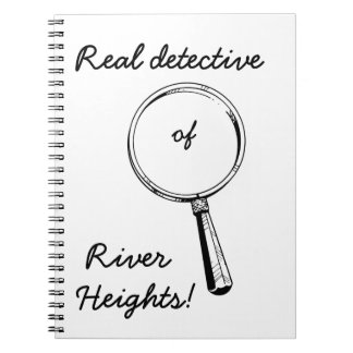 Real Detective of River Heights!: Cute for Girls Spiral Notebook
