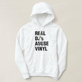 REAL DJ's ABUSE VINYL Hoodie