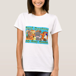 Real doctors treat all species - full color T-Shirt