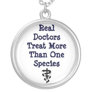 real doctors tx >1 spp silver plated necklace