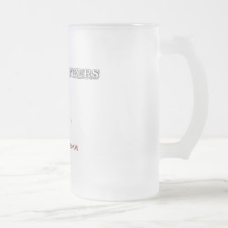 Real Engineers Frosted Glass Beer Mug