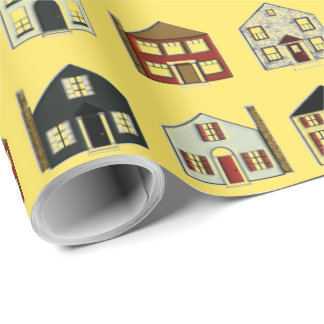 Real Estate Agency Wrapping Paper