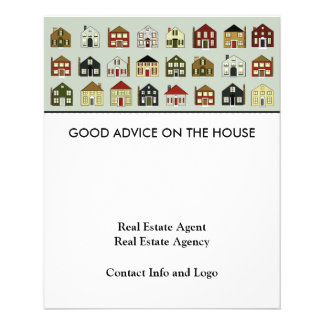 Real Estate Agent 11.5 Cm X 14 Cm Flyer