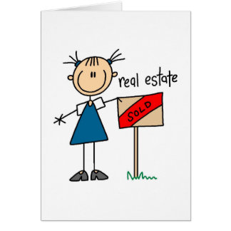 Real Estate Agent Card