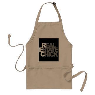 real estate agent girl standard apron