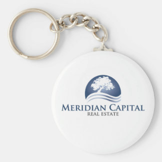Real Estate Agent Marketing Material Basic Round Button Key Ring