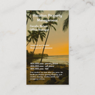 Beach real estate agent business cards zazzle au real estate agent or beach property management business card reheart Choice Image