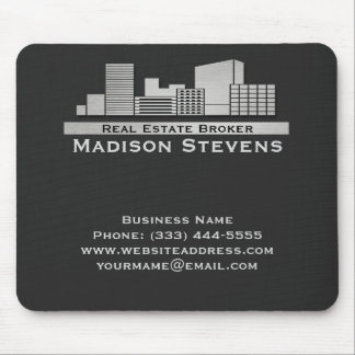 Real Estate City Logo Mouse Pad