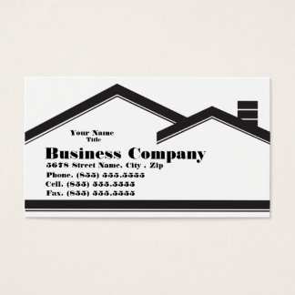 Real Estate / Construction Business Card