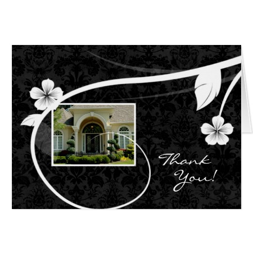 Real Estate Home Thank You Greeting Card