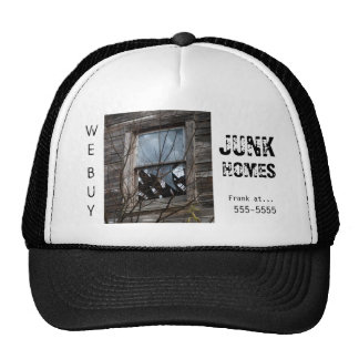 Real Estate Investor Advertising Cap Hat