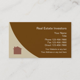 Property manager real estate agent business cards zazzle au real estate investor business card reheart Image collections