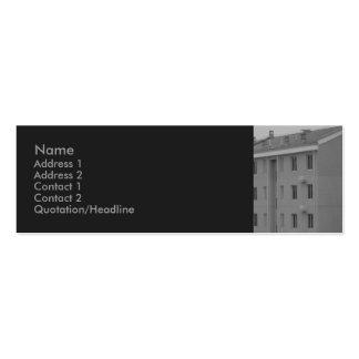 Real Estate Profile Card Business Card Template