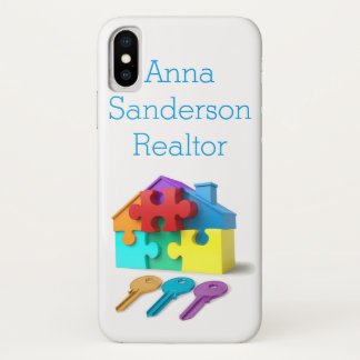 Real Estate, Realtor, estate agent, New Home iPhone X Case
