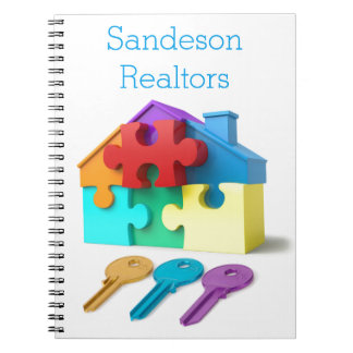 Real Estate, Realtor, estate agent, New Home Notebooks