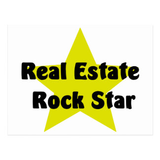 Real Estate Rock Star Postcard
