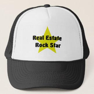 Real Estate Rock Star Trucker Hat