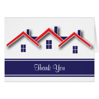 Real Estate Thank You Card