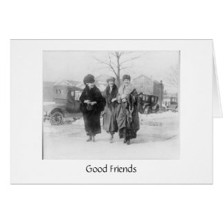 Real Friends Are Important Card