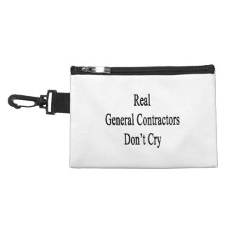 Real General Contractors Don't Cry.png Accessory Bags