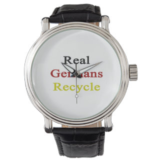 Real Germans Recycle Wrist Watches