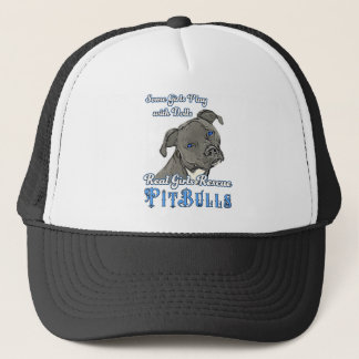 Real Girls Rescue Pit Bulls Trucker Hat